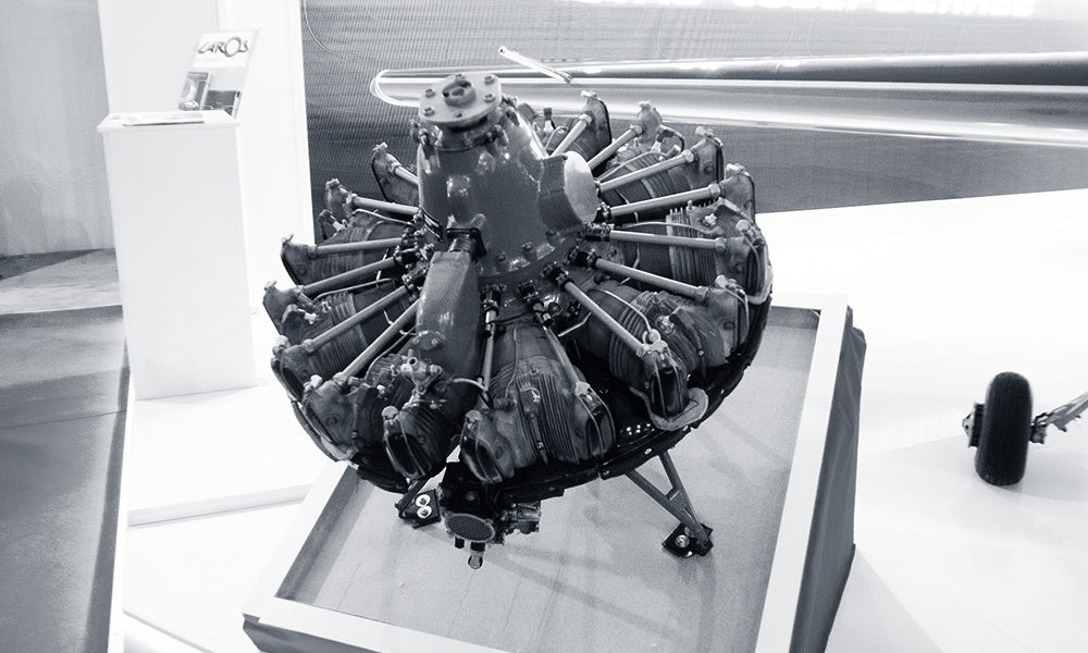 Aircraft engine M14P