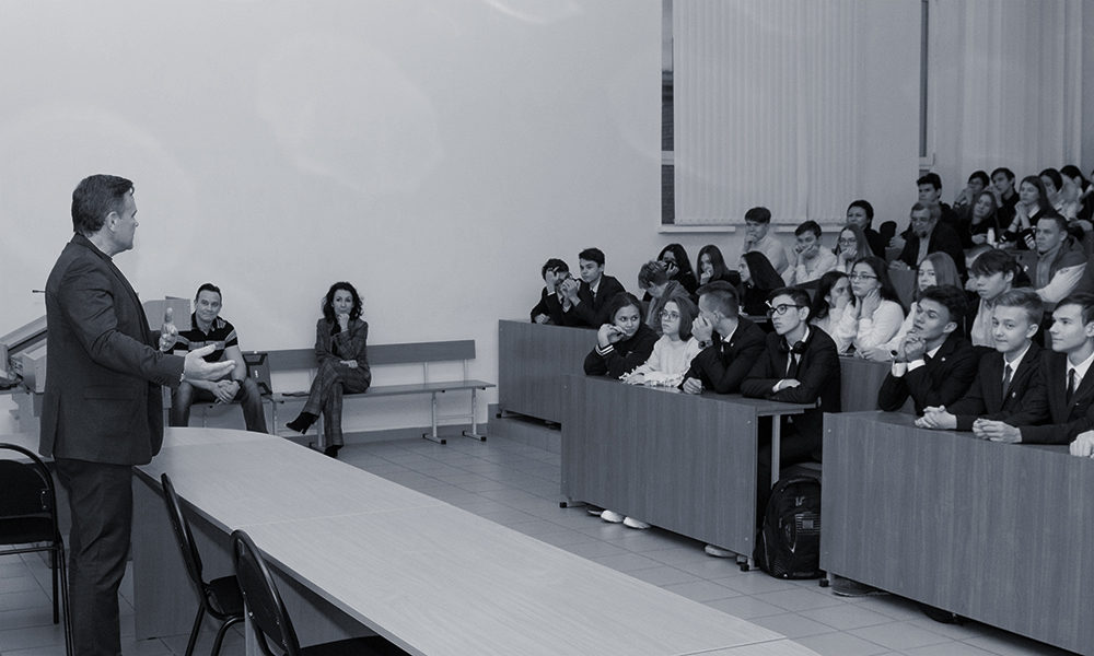 Open lecture from Larionov O.S.at KNRTU-KAI